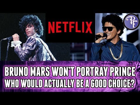 Bruno Mars In A Prince Movie? Good Idea Or Not?