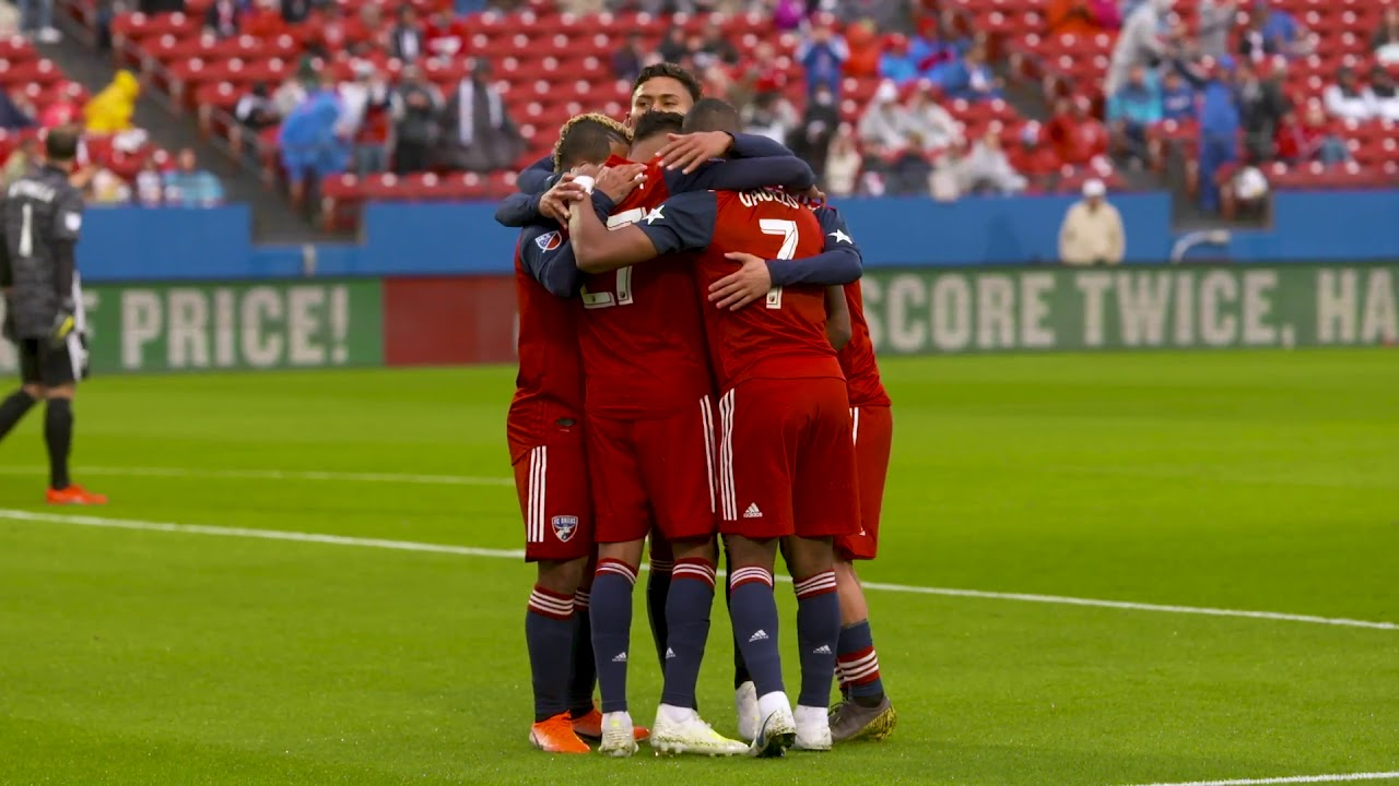 SLO MO: Jesus Ferreira and Reto Ziegler Lead FC Dallas to 2-1 Win Over Portland Timbers