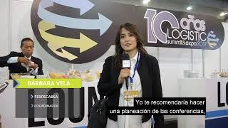 Logistic Summit & Expo 2017 - Testimonio Pase Dorado – FERRECABSA S.A. DE C.V. – Bárbara Vela