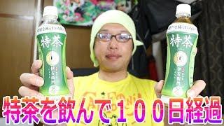 特茶を飲み始めて100日の結果は?!