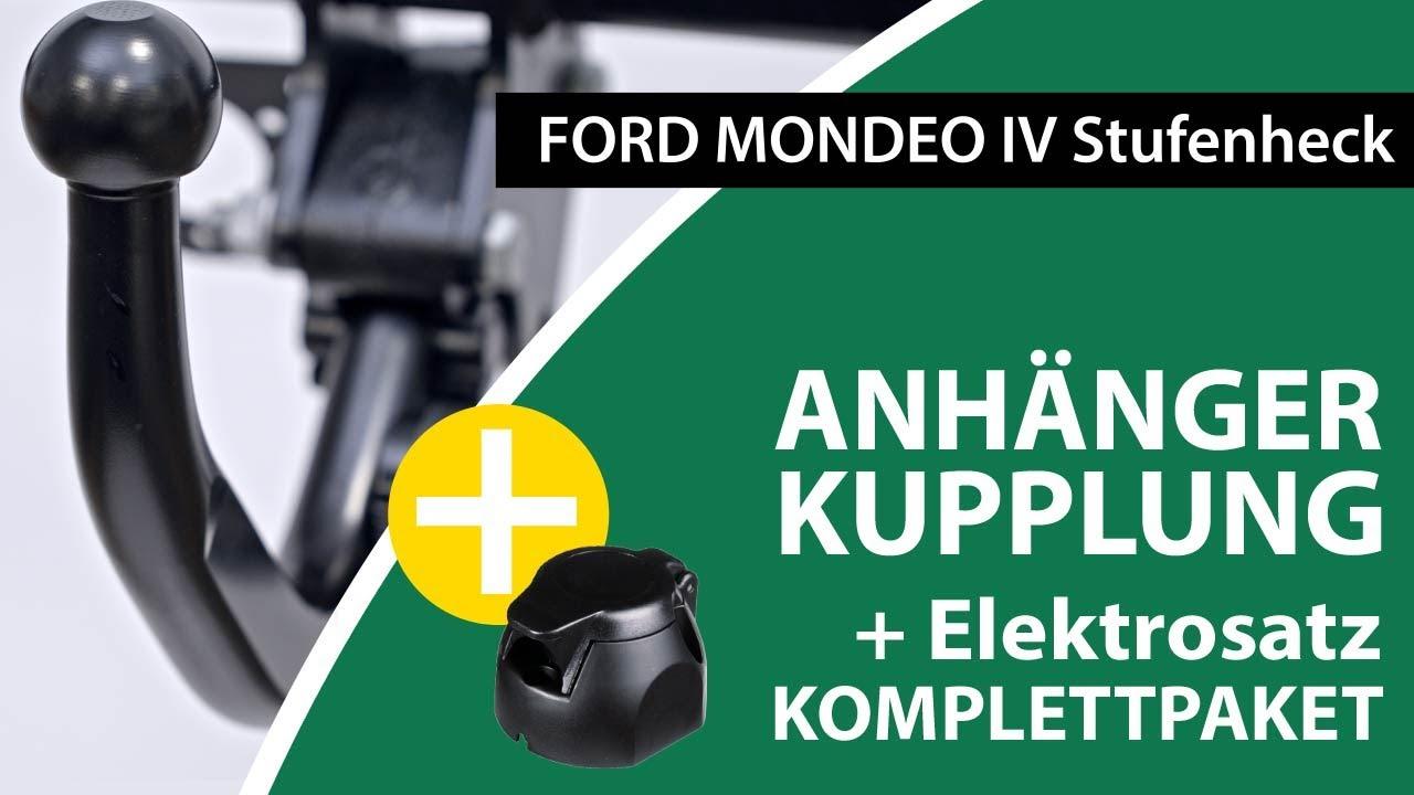 Neu 13pol universell E-Satz Für Mondeo Stufenheck 00 ANHÄNGERKUPPLUNG starr