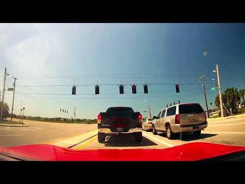 Driving from FGCU Campus to Bonita Springs, Florida