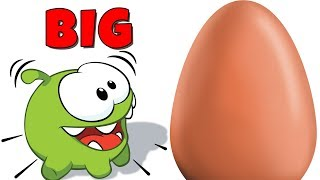 Om Nom Stories: Learn Sizes with Surprise Eggs | Cut the Rope 2018 | Learning Cartoons for Children