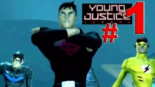 Young Justice: Legacy - En español y difícil - Grecia 1: LLegada - Parte 1