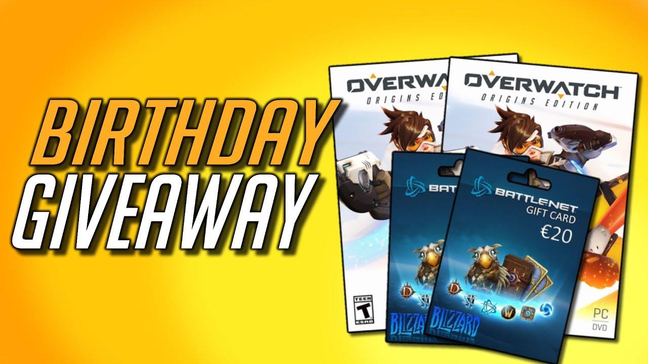 CLOSED] Overwatch Birthday Giveaway! (Origins Edition, Battle.net ...