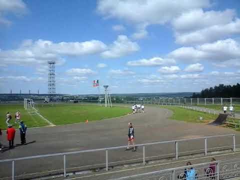 бег 800 метров Районные сельские игры п.Игра Удмуртия 2019 год