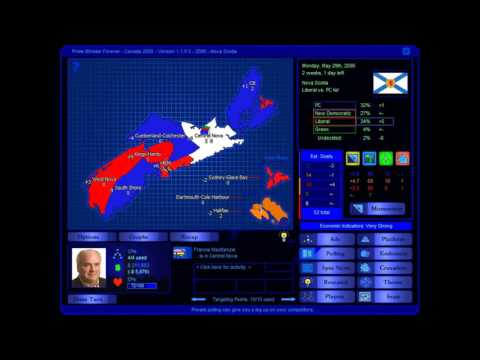 Nova Scotia 2006 Election Game (Liberal)