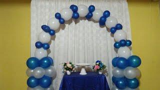 Balloon Arch Birthday Decor