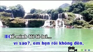 Karaoke LỜI HỨA ĐẦU MÔI (Sang Tac Nguyen Quang)