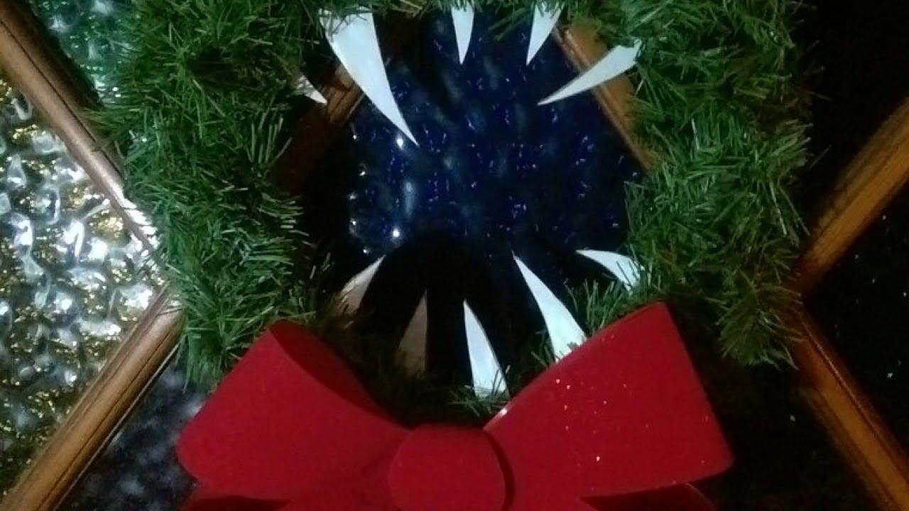 Create a Spooky Nightmare Before Christmas Wreath - DIY Home ...