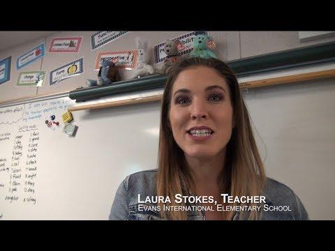 Laura Stokes, Teacher - Evans International Elementary School