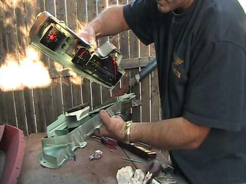63 Impala Video 77 Instrument Cluster Rebuild