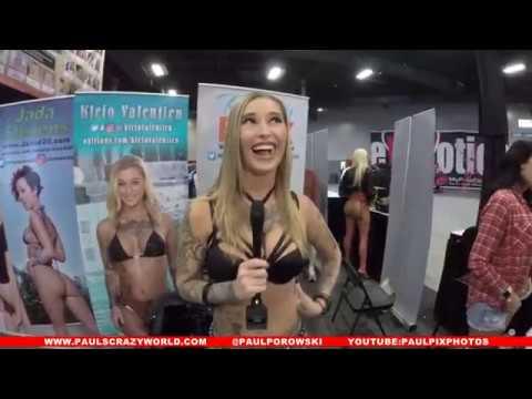 Raw Interview Kleio Valentien 2017 Exxxotica NJ