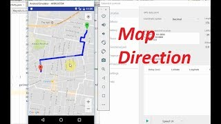 Android tutorial: How to get directions between 2 points using Google Map API