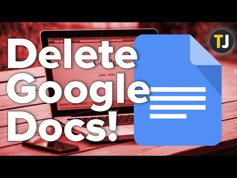 Deleting ALL Of Your Google Docs!