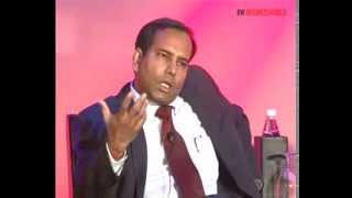 Dabashis Ghosh of TCS at Businessworld International Business Awards 2012