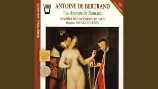 Amours de Marie, 2ème livre des Amours de Ronsard: Je meurs, hélàs, quand je la voy