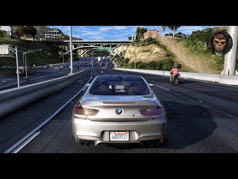 ► GTA 6 Graphics - BMW M Cars Best MODs! ✪ M.V.G.A. - Gameplay! 2017 Realistic Graphics MOD 60FPS