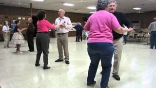 "40 LINDA PROSSER CUES ""EIGHTEEN YELLOW ROSES"" RUMBA ROUND DANCE"