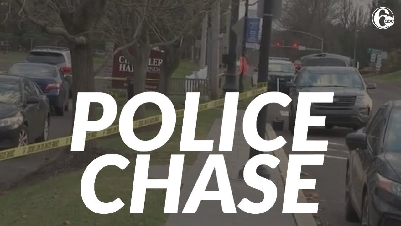 2 in custody after police chase in Bucks County, Pennsylvania ends in Philadelphia
