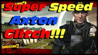 Borderlands 2 Super Speed Axton Glitch Tutorial! Turbo Fast Commando Expertise Skill Tree Exploit! thumbnail