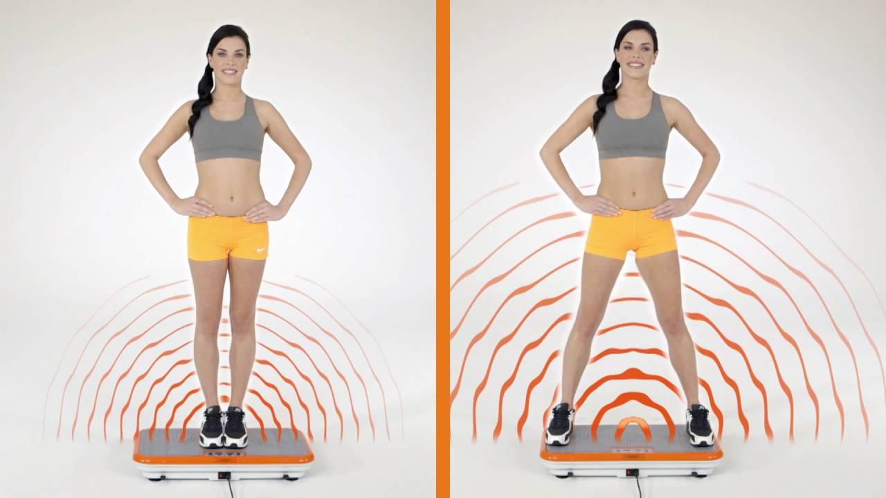 La plataforma vibratoria funciona para adelgazar
