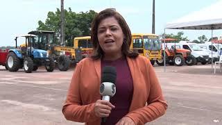 Candeias do Jamari recebe maquinários e automóveis por meio de emenda