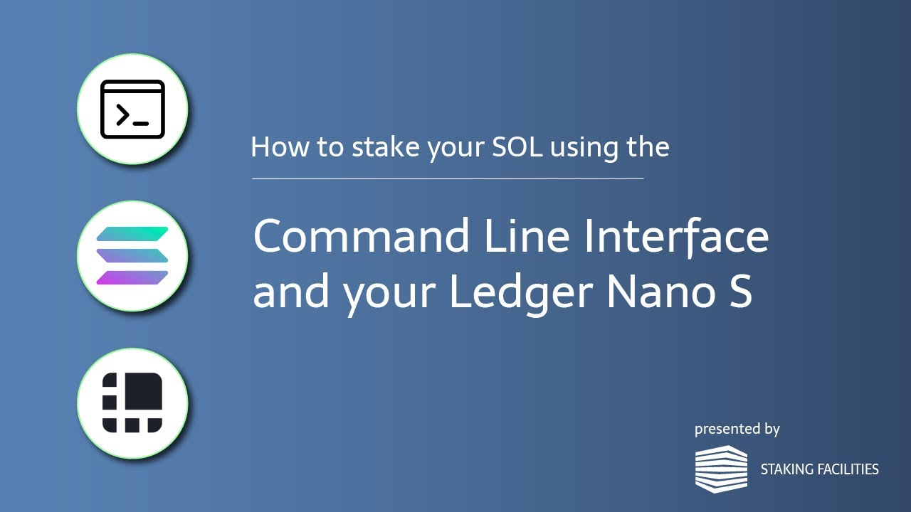 How to Create a Solana Address and delegate your SOL tokens using the Terminal (CLI)