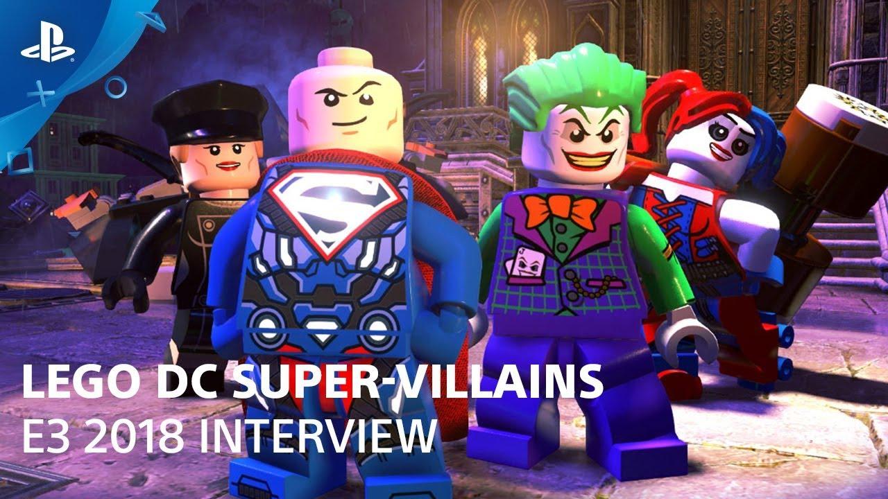 LEGO DC Super-Villains - Gameplay Demo | PlayStation Live ...