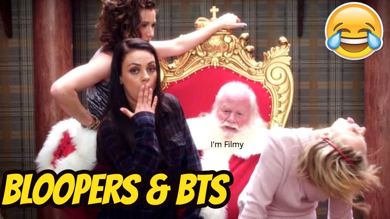 A Bad Moms Christmas Bloopers and