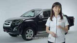 Isuzu D-Max 3.0L 4x4 Auto Premium Review 2019 [English FULL]