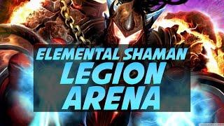 Level 110 Elemental Shaman Arena - Legion PvP Gameplay