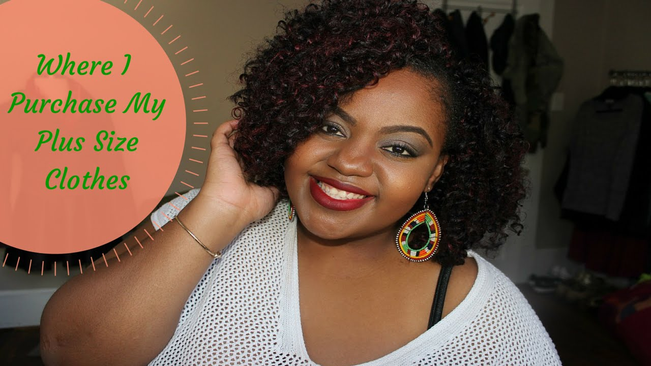 Where I Buy My Plus Size Clothes Affordable Plus Size Shopping Youtube