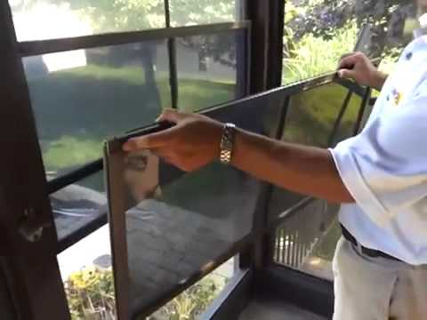 Care & Cleaning Of The Sunspace WeatherMaster Porch Windows