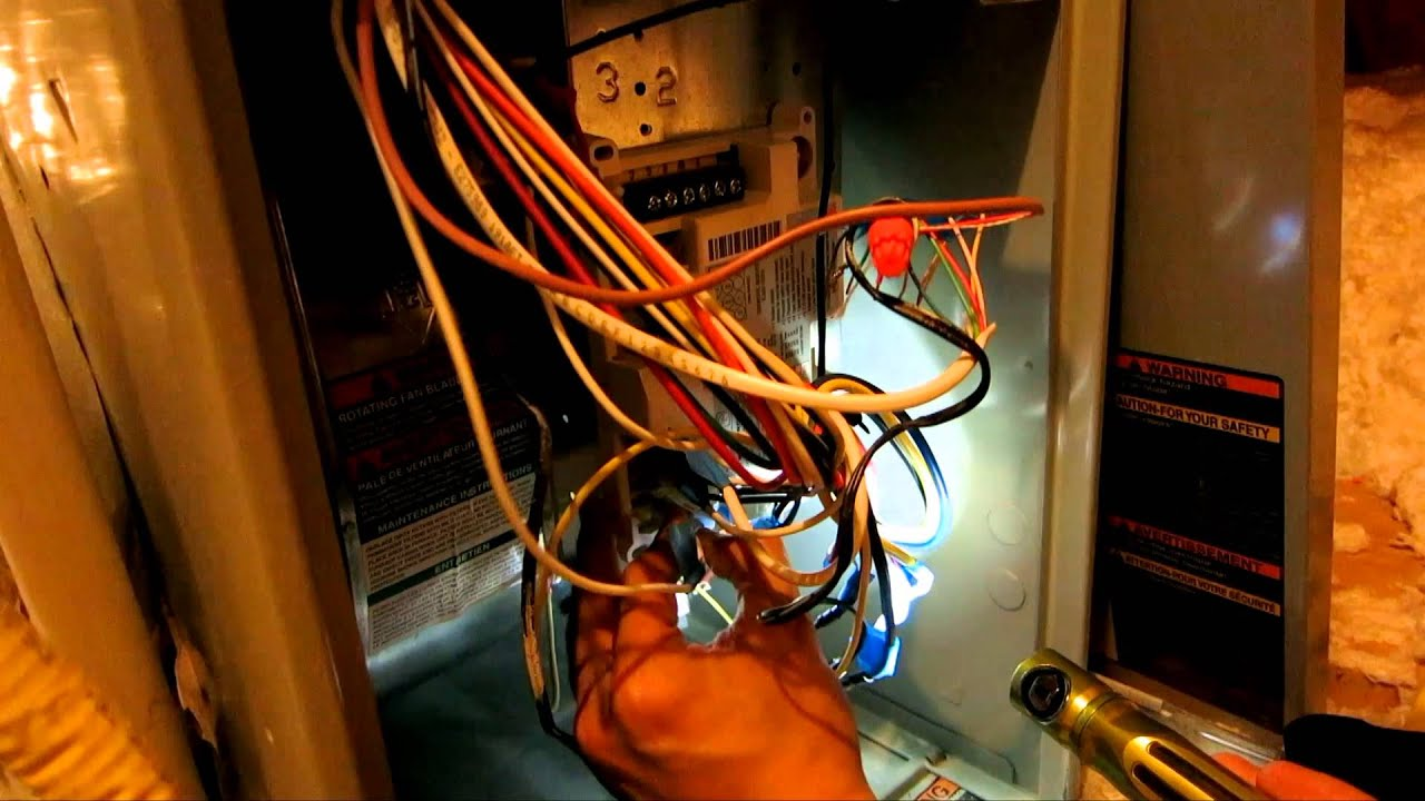hight resolution of how to install white rodgers 50a55 843 control board in trane tue1 xb80 furnace tue1a040a9241a youtube