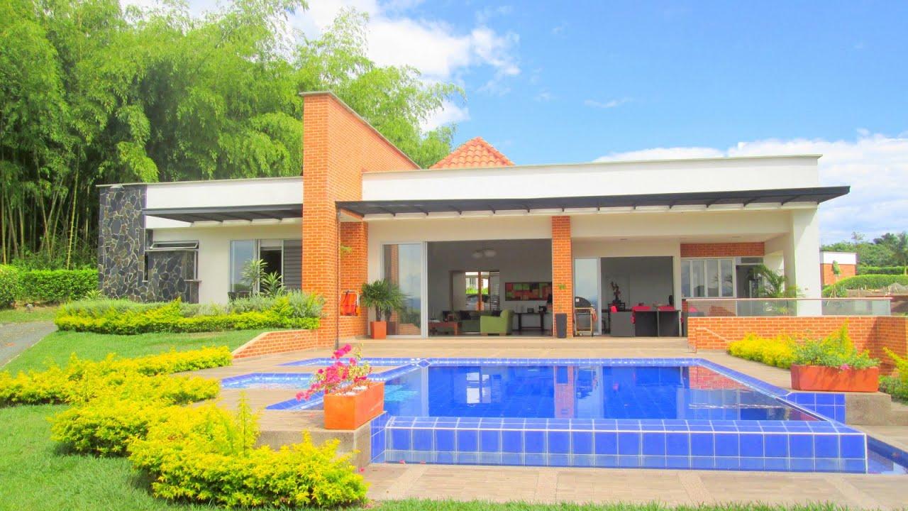 Majestuosa casa campestre en quimbaya condominio campestre for Cubiertas para casas campestres