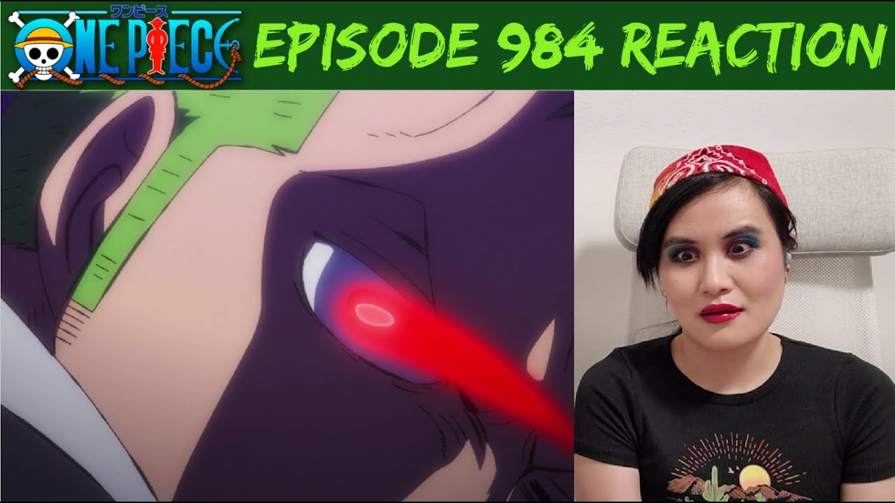 ONE PIECE ANIME EP 984 COMMENTARY REACTION
