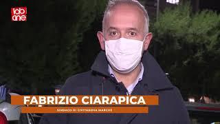 28.10.2020 - civitanova in piazza con il sindaco ciarapica contro l'ultimo dpcm.