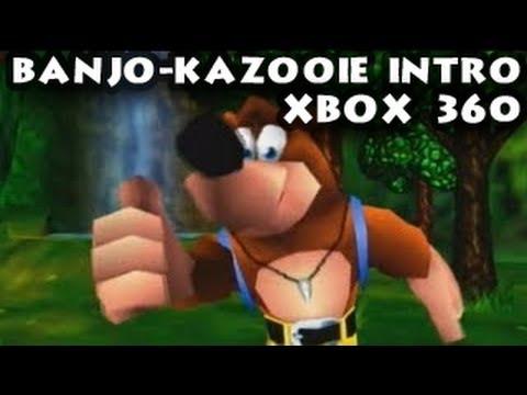 Intro And Title Screen Banjo Kazooie N64 Doovi