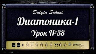 Диатоника (1) Уроки игры на электрогитаре №38 Dolgin School