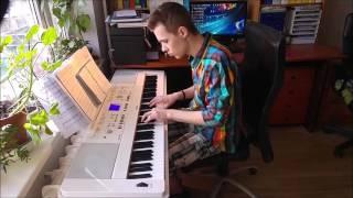 Pie Dieviņa gari galdi [klavieres/piano cover]