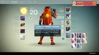 New Monarchy Rank 9 reward new Hunter Cloak