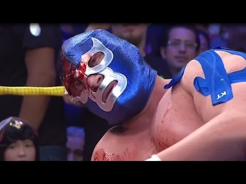 BLUE DEMON vs L.A.PARK Mano a Mano Lucha Estelar Extrema 1/Oct/2016