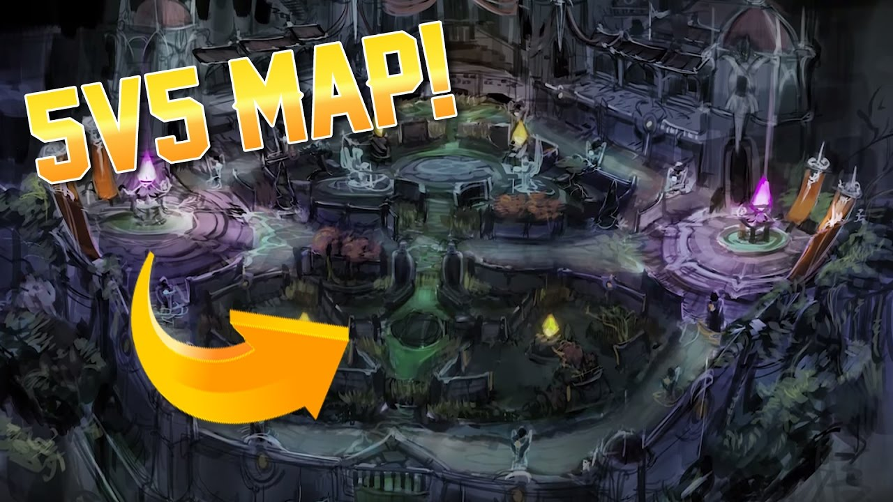 Vainglory News - 5v5 MAP REVEALED!! - YouTube on