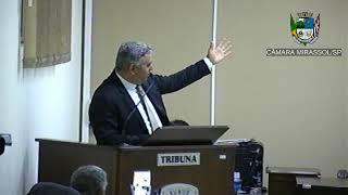 4ª Sessão Ordinária - Vereador presidente Marcão Alves