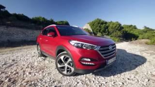 Hyundai Tucson Test on WRC track Tour de Corse 2015