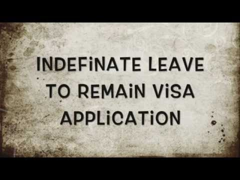 Application for ILR