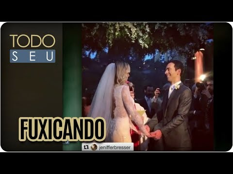 Casamento De Ticiane Pinheiro E César Tralli | Fuxicando - Todo Seu (07/12/17)