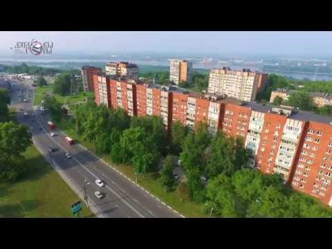 Аэросъемка - улица Родионова  (Нижний Новгород)