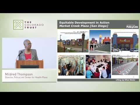 Creating a More Equitable Society to Achieve Health Equity